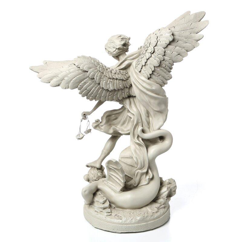 Design Toscano St Michael The Archangel Gallery Statue