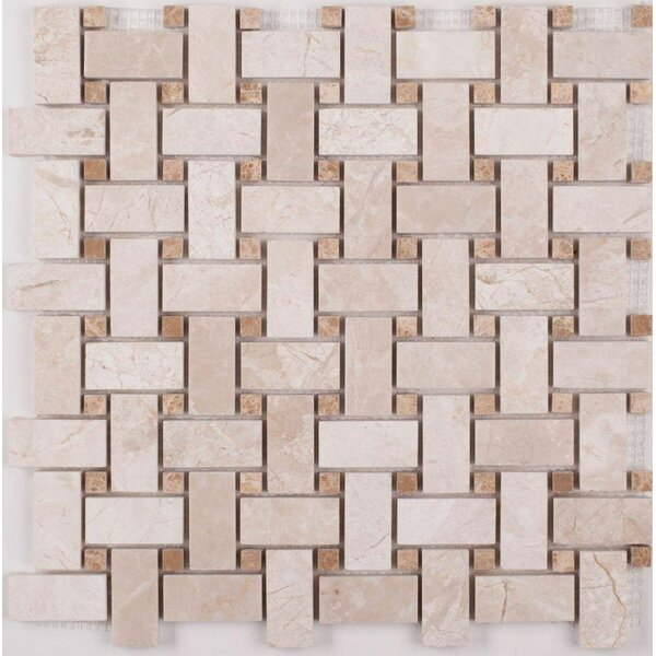 Mosaic Tile in Diana Royal by Ephesus Stones