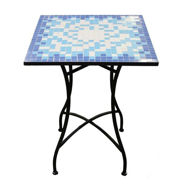 Cervantez Stone/Concrete Bistro Table by August Grove