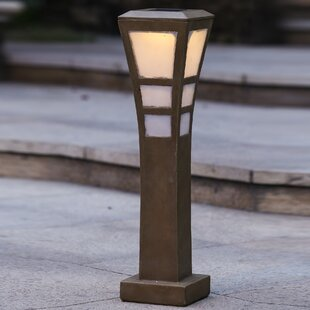 Savings Solar 5-Light Bollard Light By Winsome House