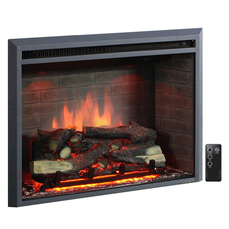Loon Peak Armes Fireplace Insert Reviews Wayfair