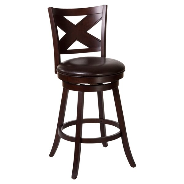 Ashbrook 25.75 Swivel Bar Stool by Hillsdale Furniture