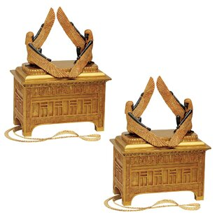 Online Reviews 2 Piece The Ark of the Covenant Sculptural Boxes Set ByDesign Toscano
