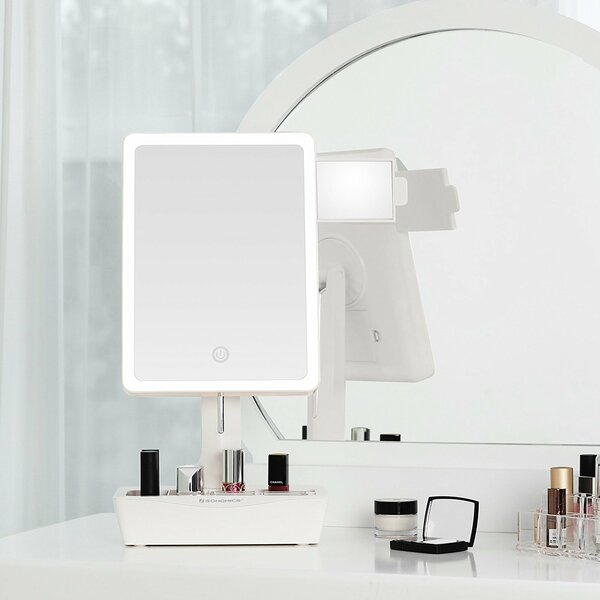 Everman LED Makeup/Shaving Mirror by Rebrilliant