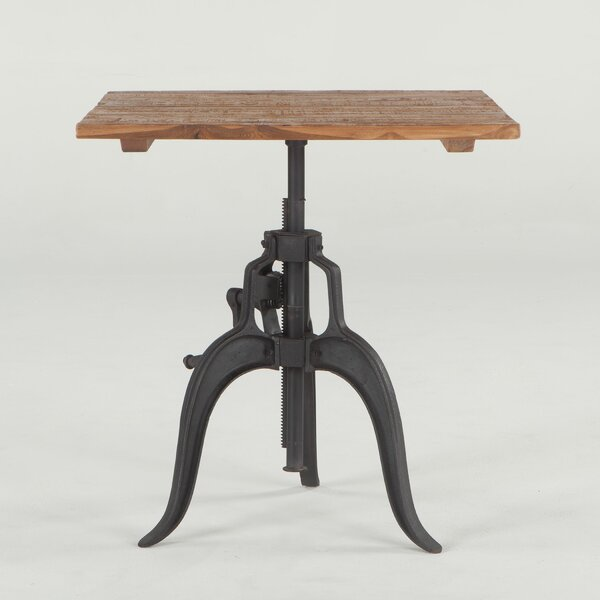Hackett Adjustable Dining Table by Williston Forge