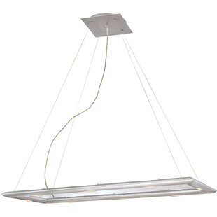 Find Forma 6-Light Square/Rectangle Chandelier By Wildon Home ®