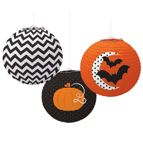 Halloween Printed Paper Lantern Set by Amscan