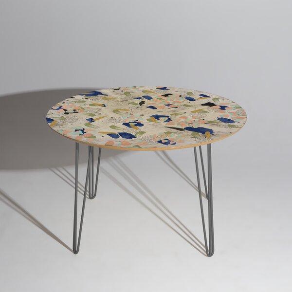 Marta Barragan Camarasa Abstract Marble Dining Table by East Urban Home East Urban Home