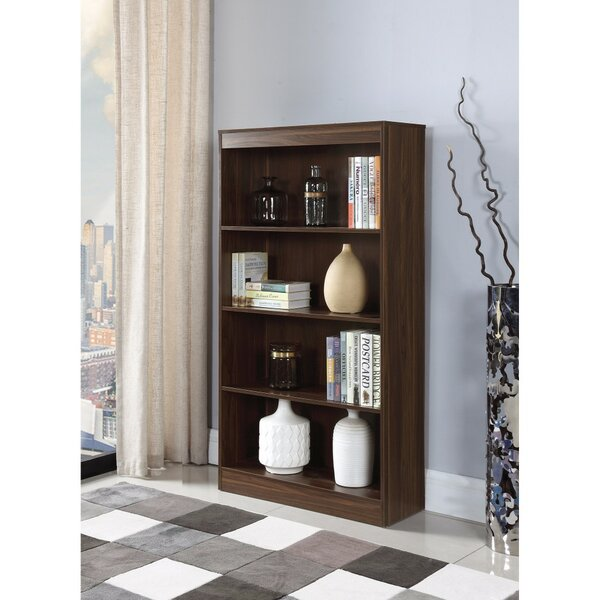 Holford Transitional Wooden Standard Bookcase by Winston Porter