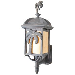 Top Reviews Penfield 1-Light Outdoor Sconce By Alcott Hill
