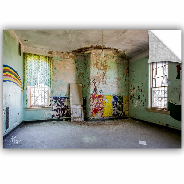 Michael Beach Abandoned Lunatic Asylum 4 Wall Decal by ArtWall