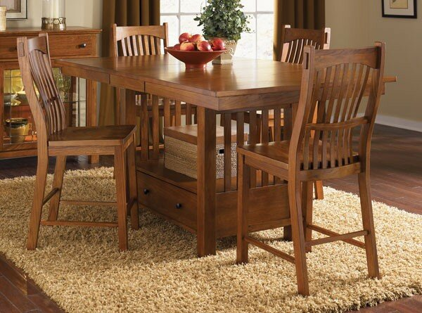 Corwin 5 Piece Pub Table Set by Loon Peak Loon Peak