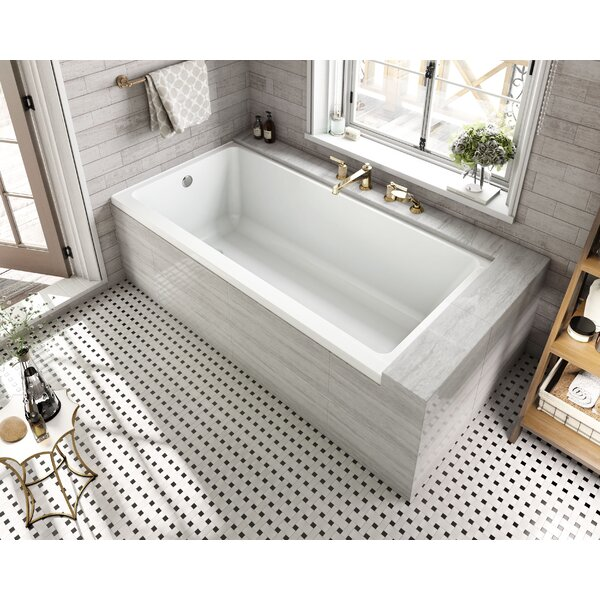 Equinox 60 x 30 Drop in Soaking Bathtub by Wet Rep