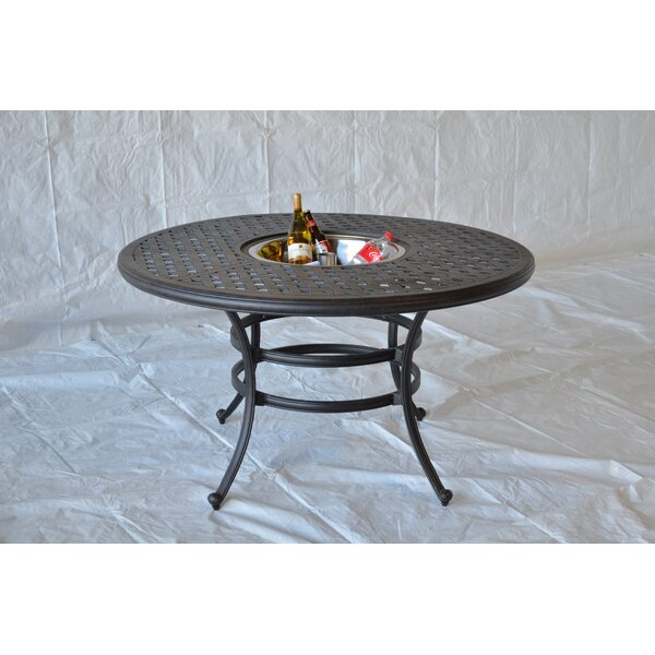 Nola Dining Table with Ice Bucket by Darby Home Co