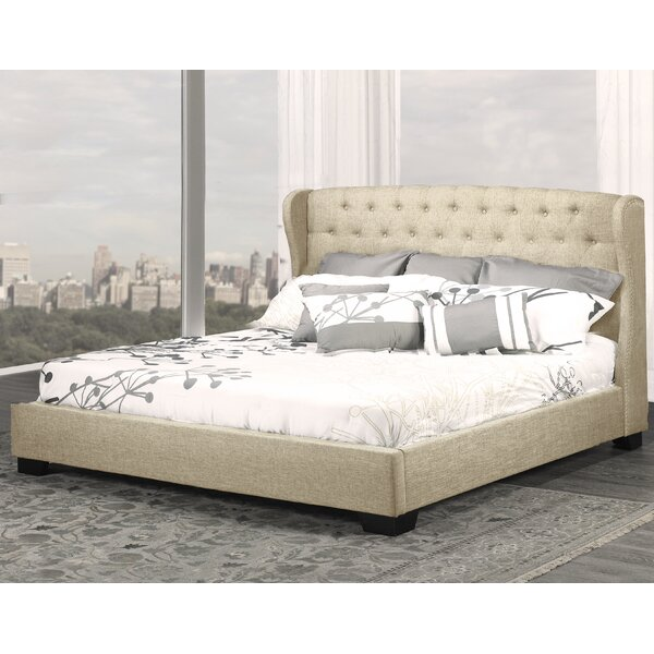 Meibel Upholstered Platform Bed by Darby Home Co