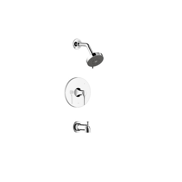 Nita Single-Handle Temperature Control Tub And Shower Faucet By Ultra Faucets