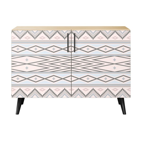 Elise 2 Door Cabinet by Bungalow Rose Bungalow Rose