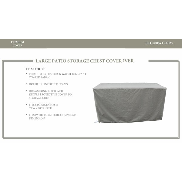 Water Patio Storage Chest Cover by TK Classics