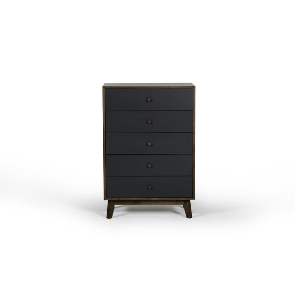 Gideon 5 Drawer Chest by Modern Rustic Interiors