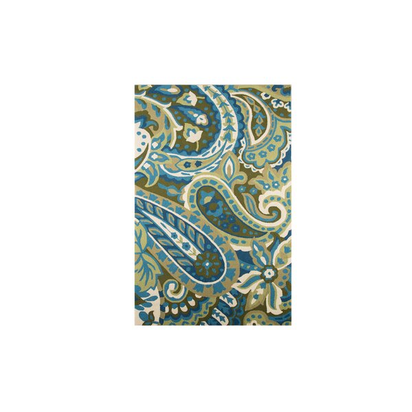 Cynthia Paisley Multi Outdoor Rug by Winston Porter
