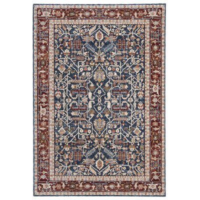 Lauren Ralph Laurendarcy Oriental Navy Red Area Rug Lauren Ralph Lauren Rug Size Rectangle 4 X 6 Dailymail