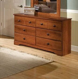 Barrowman 6 Drawer Double Dresser by Darby Home Co