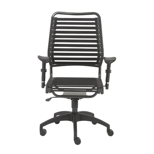 Barbee Adjustable Bungee Desk Chair by Orren Ellis