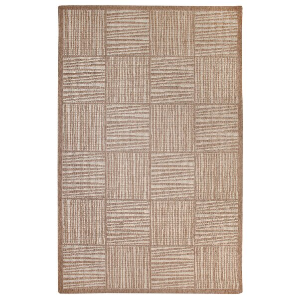 Beck Beige Indoor/Outdoor Area Rug by Ebern Designs