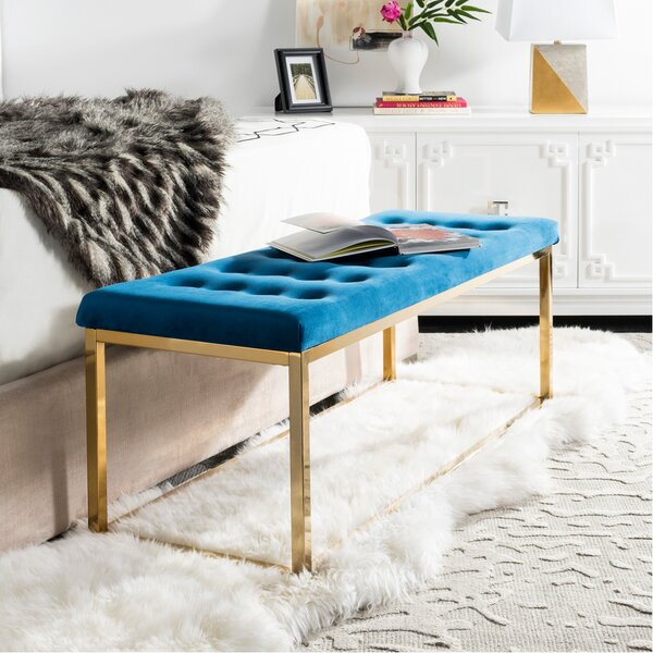 Hayse Upholstered Bench by Mercer41