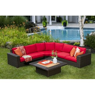 Makin Patio Sectional With Cushions