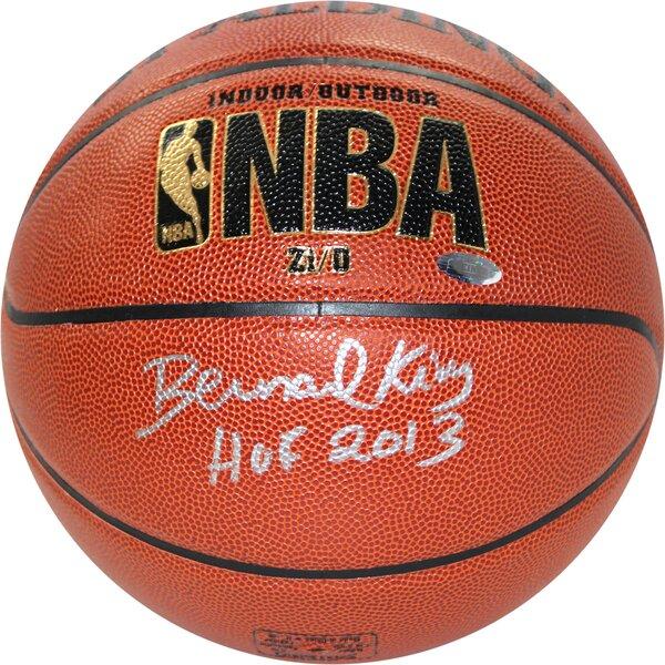 Bernard King Indoor/Outdoor Zi/O Basketball by Steiner Sports