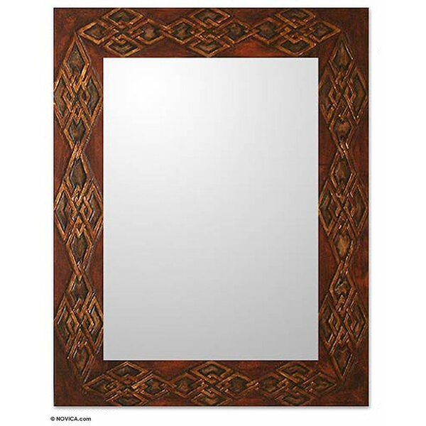 Perrinton Gordian Knot Wall Mirror by Bloomsbury Market