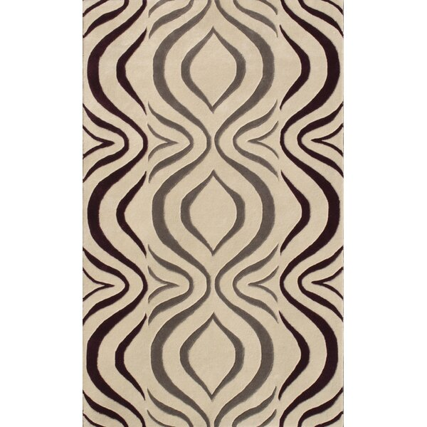 Cologne Gray Area Rug by Noble House