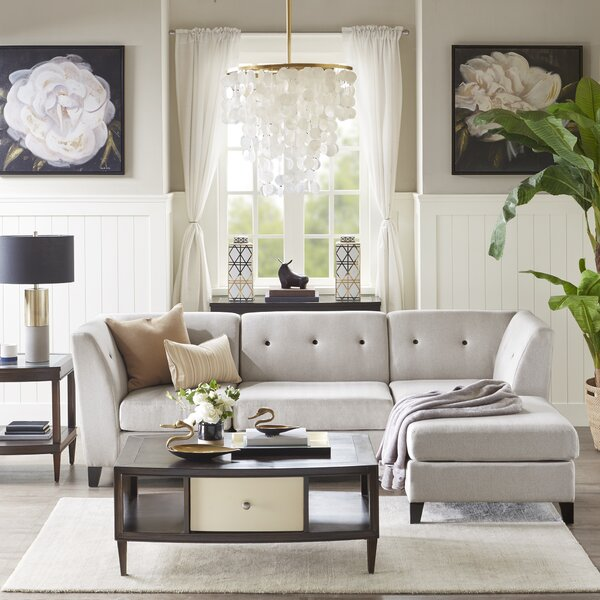Lawrence Reversible Sectional by Madison Park Signature