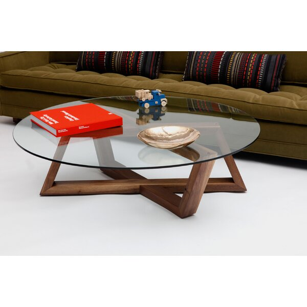 Focal Cross Legs Coffee Table By ARTLESS