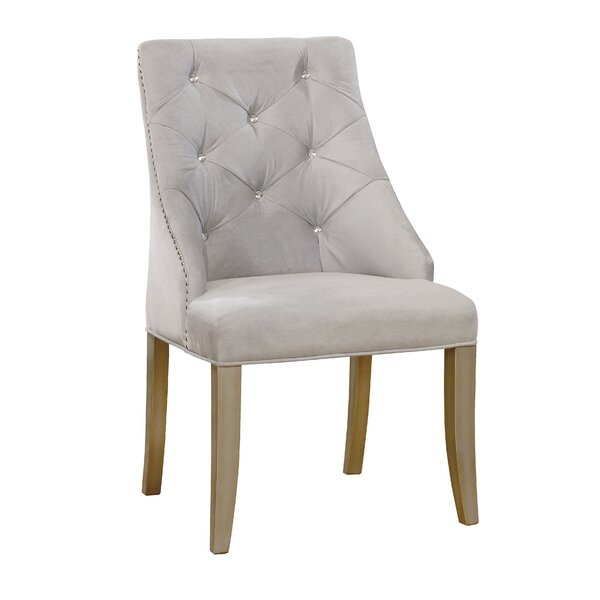 Shelton Contemporary Upholstered Dining Chair (Set Of 2) By One Allium Way