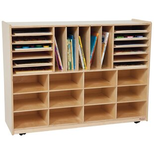 Price comparison 29 Compartment Cubby with Casters ByWood Designs