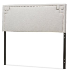 Trueman Upholstered Panel Headboard by Latitude Run
