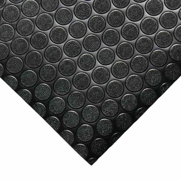 Coin-Grip Anti-Slip Rolled Rubber Mat by Rubber-Cal, Inc.