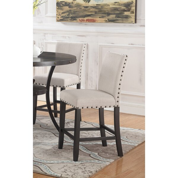 Carylon Counter Height Upholstered Dining Chair (Set of 2) by Darby Home Co