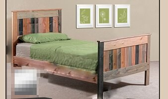 Chiasson Mates Panel Bed by Harriet Bee