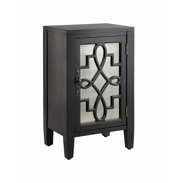 Beckford 1-door Cabinet In Soft Grey by Ophelia & Co. Ophelia & Co.