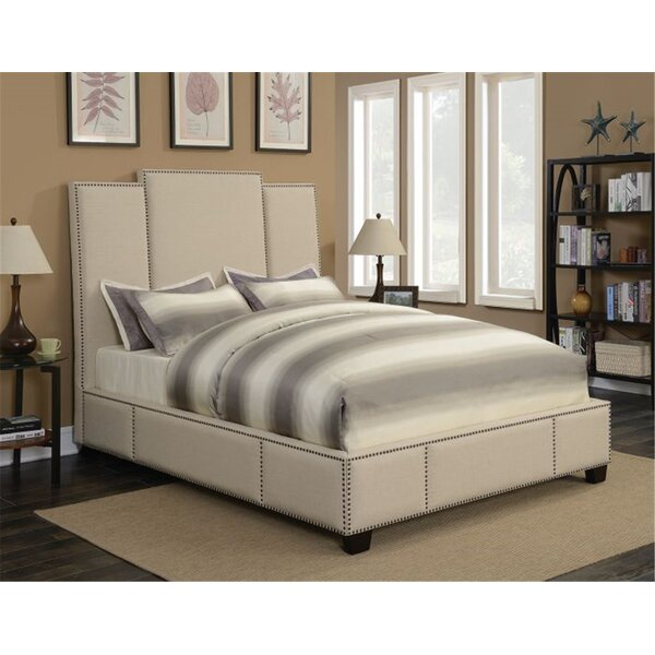 Lomita Upholstered Standard Bed by Canora Grey