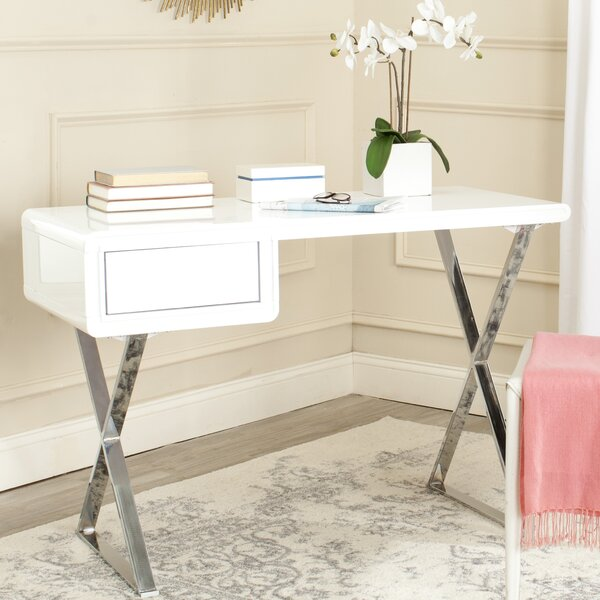 Hanover 1 Drawer Writing Desk by Safavieh