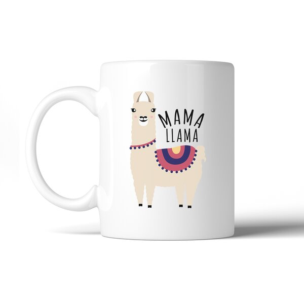 Hellman Mama Llama Coffee Mug by Ebern Designs