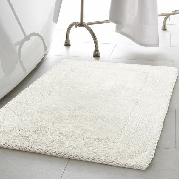 Castellanos Ruffle Cotton Bath Rug by The Twillery Co.