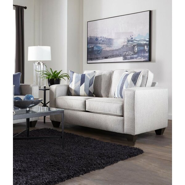 Berens Slate Loveseat by Charlton Home