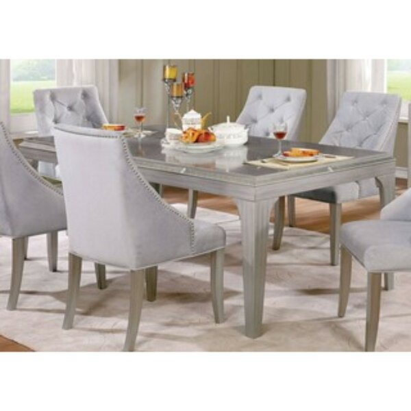 Find Isidore 6 Piece Solid Wood Dining Set By One Allium Way Wonderful