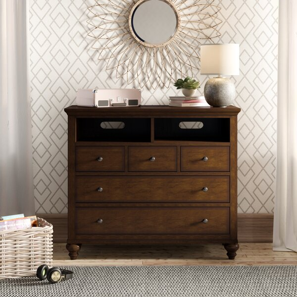 Garrick 3 Drawer Media Chest By Birch Lane™ Heritage