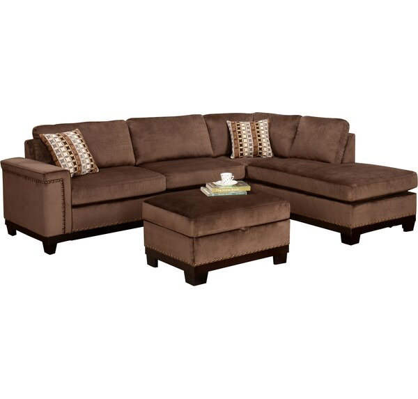 Opulence Reversible Sectional by Wildon Home®